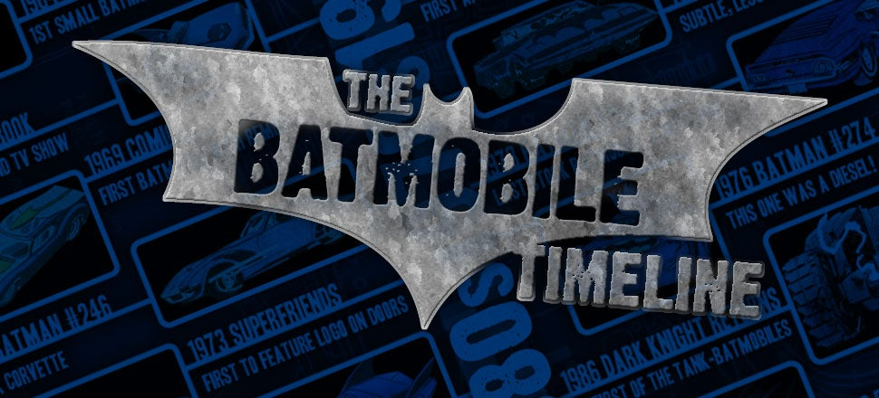All The Most Important Batmobiles In One Handy Chart