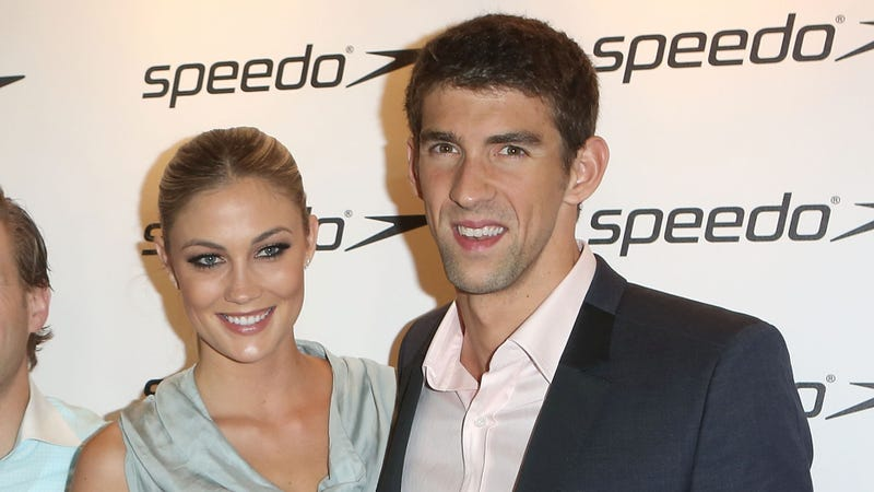 Michael Phelps Gets a Girlfriend, Everyone Immediately Assumes She's a Fame Whore