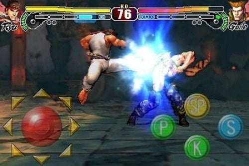 Street Fighter IV iPhone Hits Tonight