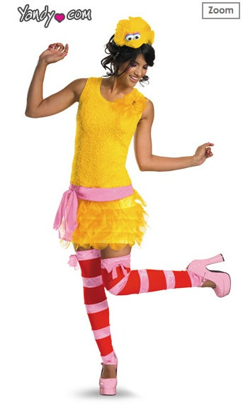 Sesame Street Displeased That Women Want to Be 'Sexy Big Bird' for Halloween