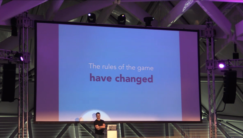 "CraftConf: ""The rules of the game have changed"""