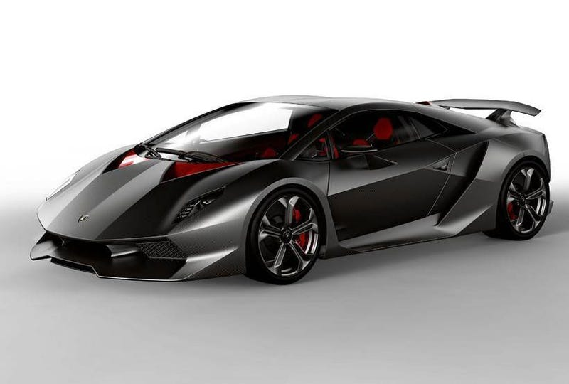 Lamborghini Sesto Elemento: First Photos