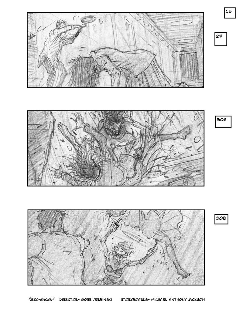 Thrilling Storyboards for Spielberg's Delayed Robopocalypse Movie