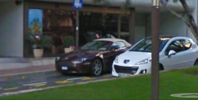 More Cool Car Spotting on Google Street View- Billionare Hangouts