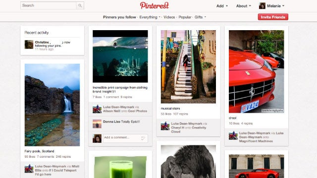 Pinterest Is a Virtual, Visual Pinboard for Collecting and Discovering Ideas