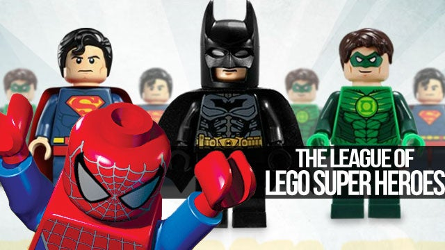 Marvel and DC Hit the Bricks in LEGO's Super Heroes Line