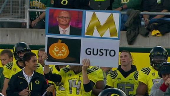 The Wind Talkers Of Oregon Football Stump The Finest Minds