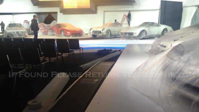 Is This The Chassis Of The New Corvette?