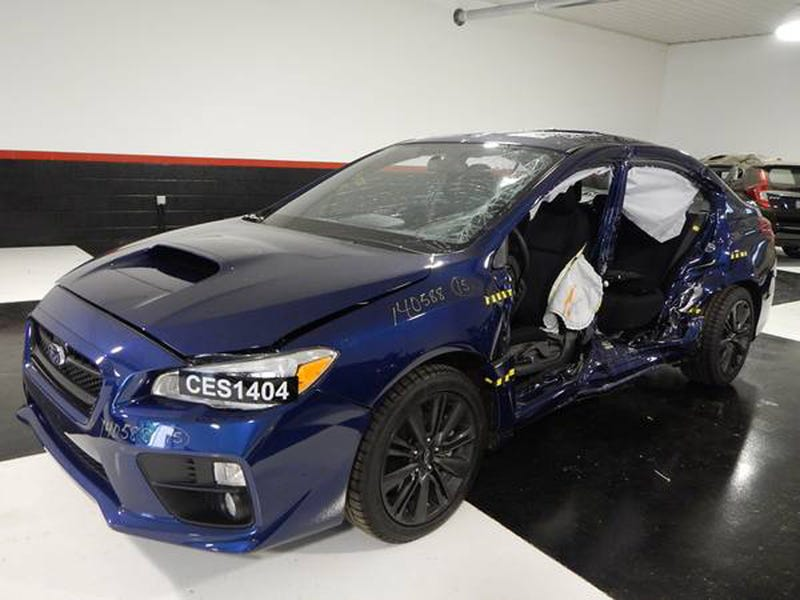 This Is What It Looks Like When You Crash A 2015 Subaru WRX