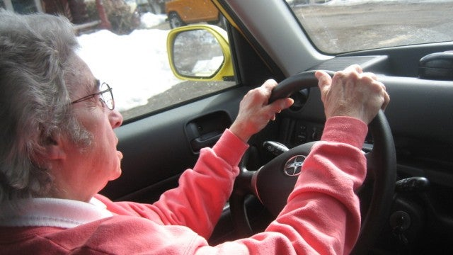 How to trick young people into driving like the elderly