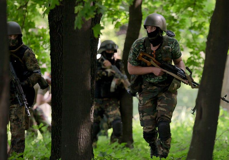 50 Pro-Russian Militiamen Reportedly Killed in Eastern Ukraine