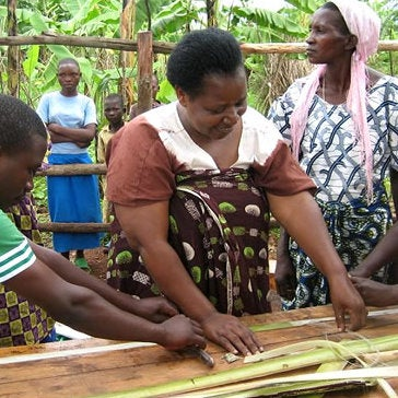 Banana-Based Pad Maker Elizabeth Scharpf Wants Rwandan Women Educated. Period.