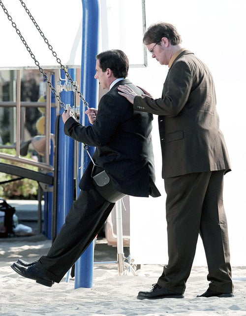 Steve Carell Is a Swinger
