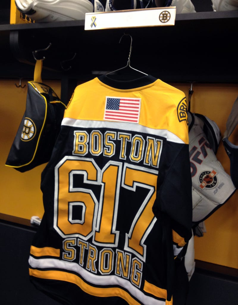 The Bruins Drop The Puck On An Emotional Night In Boston