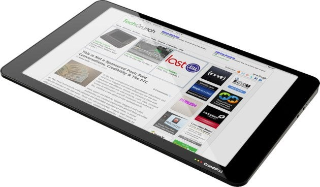 Crunchpad: Photos of TechCrunch's Delicious Web Tablet
