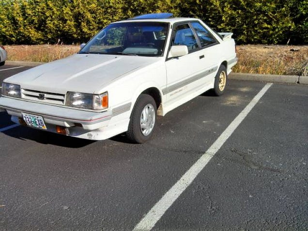 For 2 000 This 1988 Subaru Rx Turbo Is The Leone In Winter