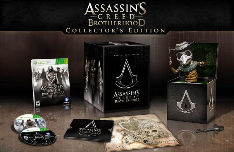 The $100 Assassin's Creed Brotherhood Collector's Edition Is Worth Every Penny