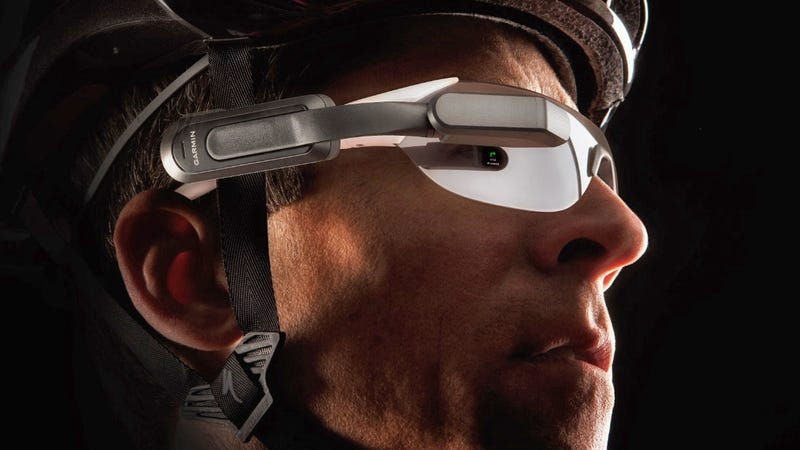 Garmin's Varia Vision Turns Your Oakleys Into a Cycling-Focused Google Glass