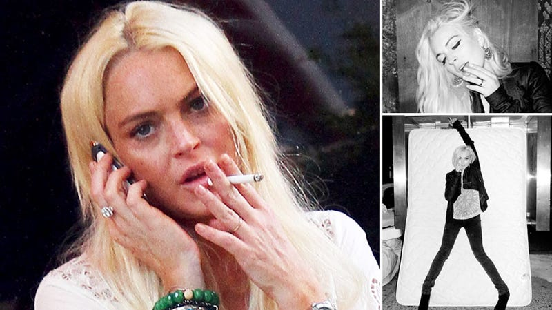 Lindsay Lohan's New Job: 'Modeling' in Milan
