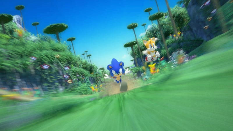 Sonic Colors Streaks To The Wii And DS
