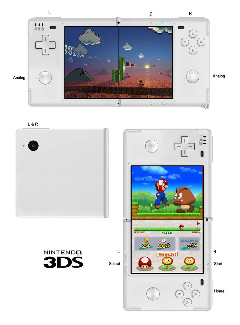 Concepts: Could The 3DS Look Like Any Of These?