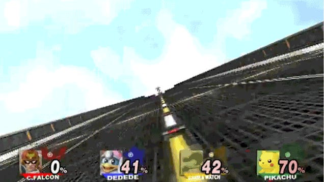 A Smash Bros. Mod That Makes Captain Falcon's Final Smash Glorious
