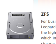 Mac OS X Snow Leopard for Servers Getting ZFS