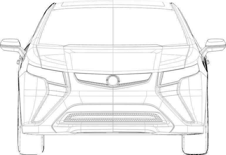 Opel Ampera Concept Revealed In Patent Filings