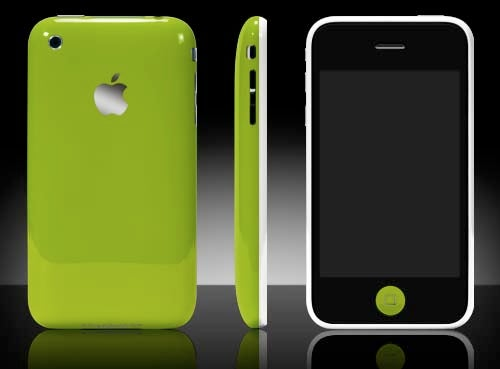 iPhone 3G Now in Multiple (Unofficial) Colors