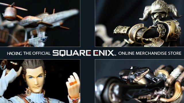 Square Enix's Online Shop Seems To Have Been Hacked