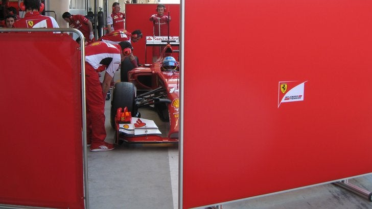Formula 1:Day Two testing Bahrain