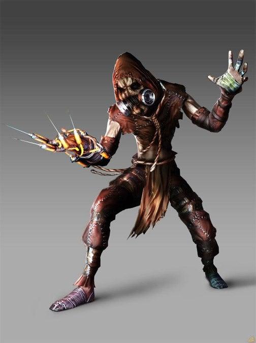Arkham Asylum's Scarecrow Design Is BioShock Creepy
