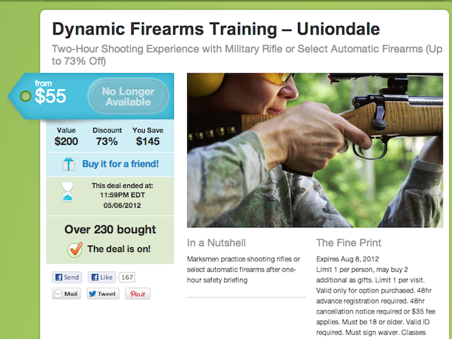 Groupon Can Take Away Our Gun Deals, but They'll Never Take Away our Anal Waxing