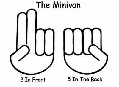 Convenient Hand Signals For The Minivan