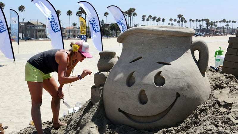 Yes, the Tide Will Wash Away Even This Remarkable Kool-Aid Sand Man