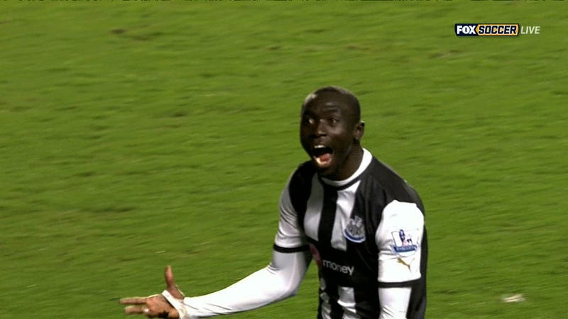 Papiss Cissé Enters His Bid For Premiership Goal Of The Season