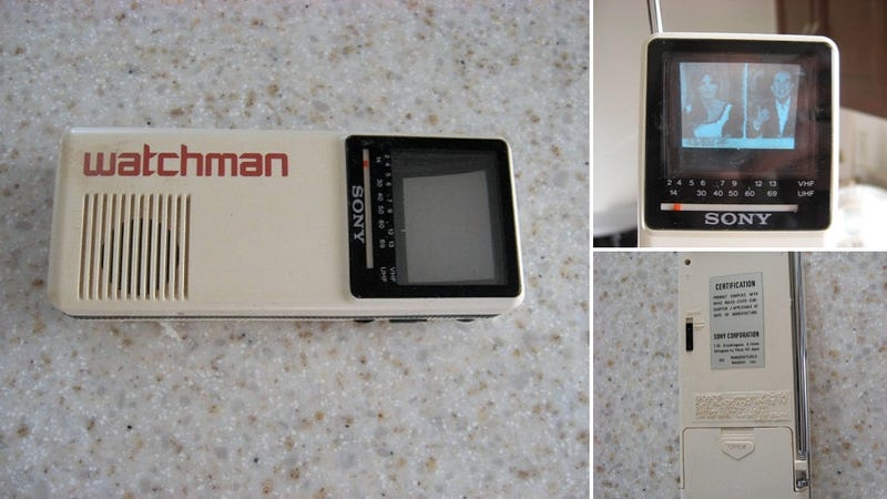 Ten Bucks Buys a Sony Watchman, the iPhone of 1986