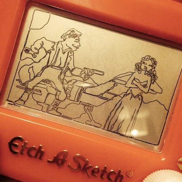 You Haven't Seen Firefly Until You've Seen It On An Etch A Sketch