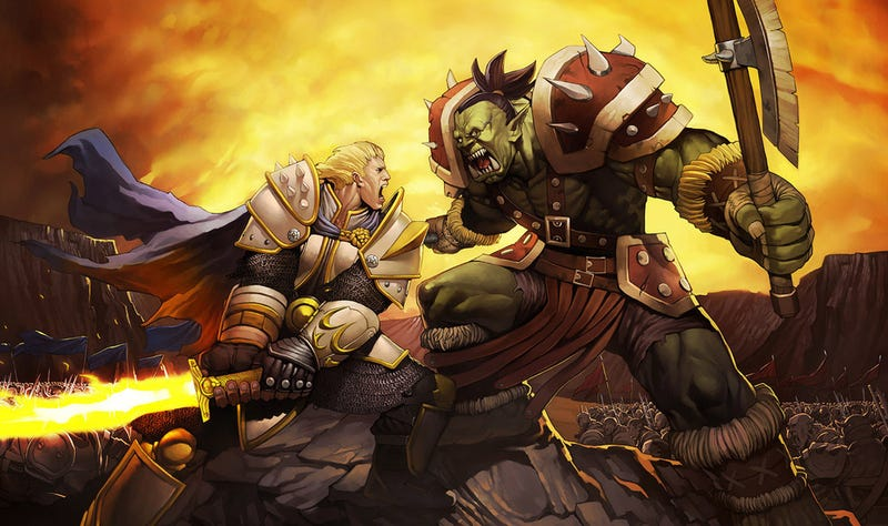 We Saw Mind-Blowing Orc-On-Human Violence In The First Warcraft Footage