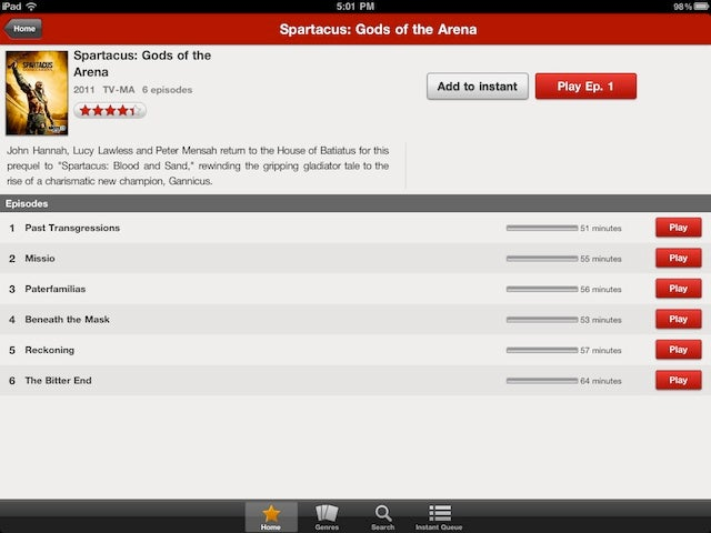 Netflix Makes iPad App Less Ugly With An Update