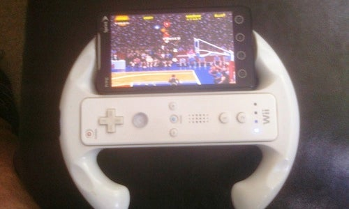 DIY Smartphone Wiimote Gaming Mounts
