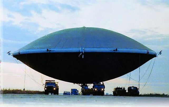 Real-Life Flying Saucers Prove That the Truth Is Right Here