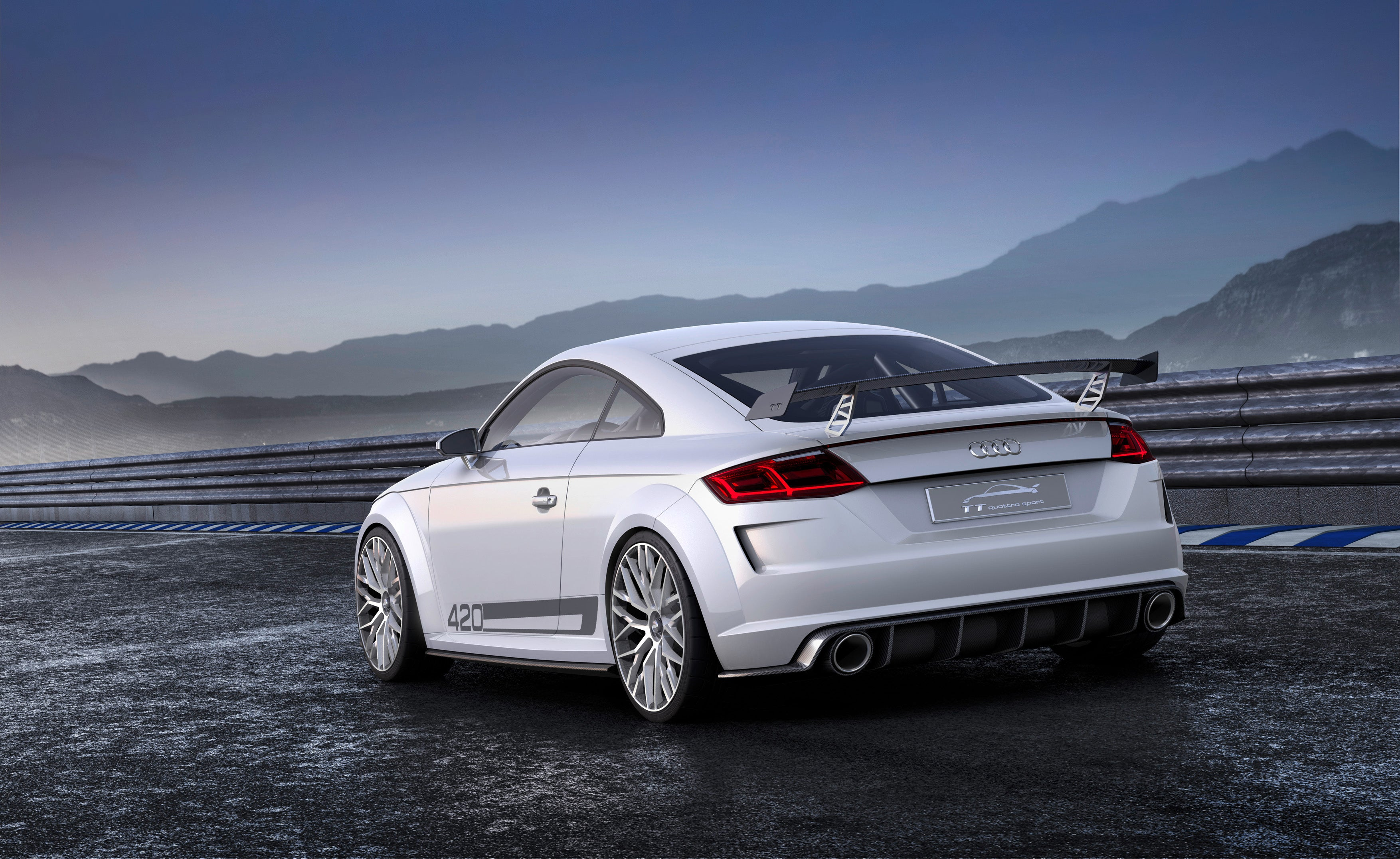 The Audi Tt Quattro Sport Concept Is Fuck You Mercedes