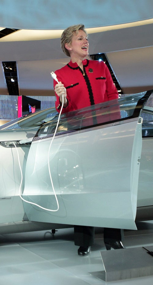 Plugging In Electric Cars: Frankfurt Promotes Latest Fetish