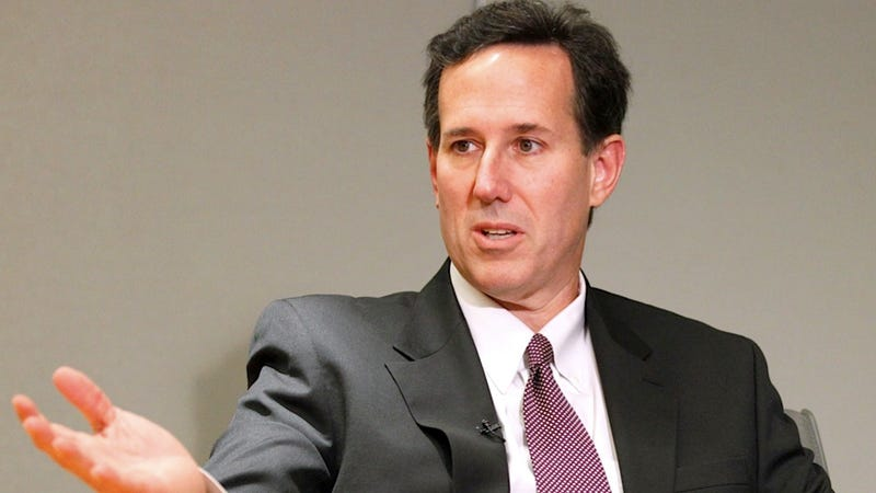 College Grad Rick Santorum Insists That Colleges 'Indoctrinate' Students Against Jesus