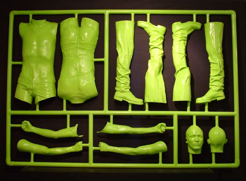 Assemble Your Very Own Human with This Life-Sized Model Kit