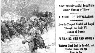 """""""How the Tempest Howled"""": New York's Terrifying Blizzard of 1888"""