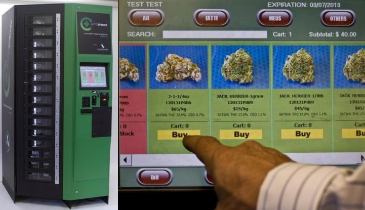 Coming Soon to a Dispensary Near You: A Marijuana Vending Machine (UPDATE)