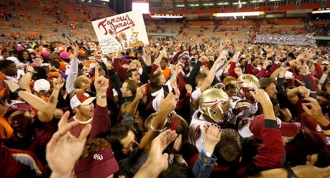 Machete-Wielding Florida State Fan Threatens Florida Fans