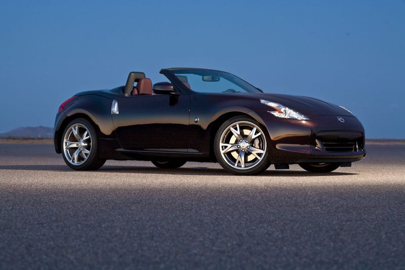 Nissan 370Z Roadster Drops Top For $36,970